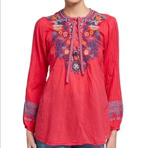 Johnny was Chelsee blouse 1X NWT 288$ boho tunic